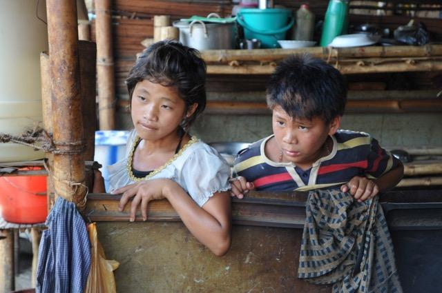 Growing up in an IDP camp, Kachin State / Photo credit Tom Kramer